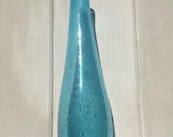 Mid century modern glass vase