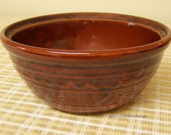 Vintage Marcrest Ovenproof Stoneware Daisy Dot Bowl