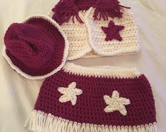 Infant baby outfit, infant, western wear, equestrian, baby shower gift, baby gift, baby, cowgirl outfit, cowgirl, cowgirl party, photo prop