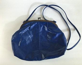 Vintage Cobalt Blue Purse