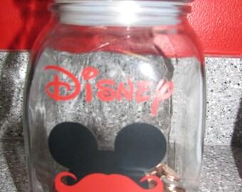 Disney Stache Vinyl Decal Disney-Inspired