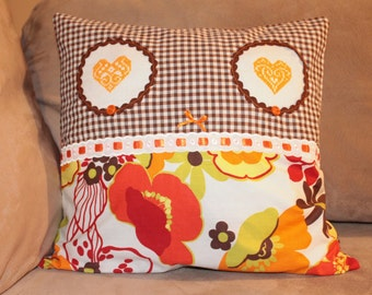 Two Hearts Pillow Sham