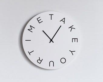 MOOD WALL CLOCK - Take Your Time