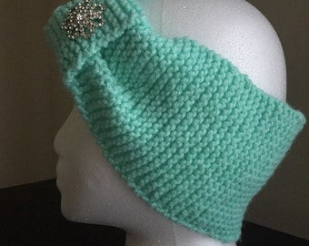 Adult Jeweled Turban Winter Headband