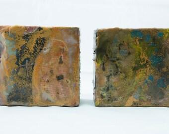 Two Original Encaustic Paintings