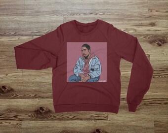 "2 Pac ""Bishop"" From The Movie Juice Sweatshirt"