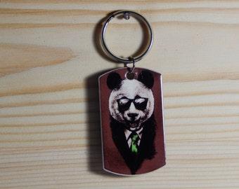 "A ""Panda"" Keychain handmade souvenir"