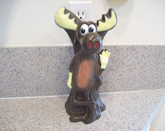 Bullwinkle Toy Bank Vintage 1973