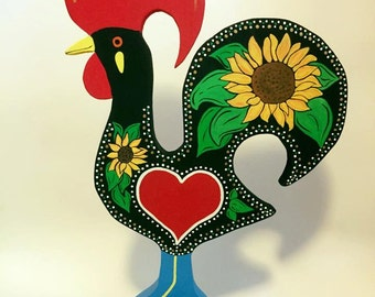 Barcelos Rooster Sunflower