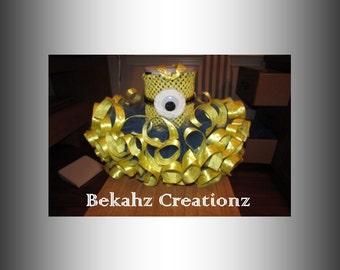 Minion Tutu Dress, Babies, Toddlers, Girls, Costume, Pageant, Dance Recital