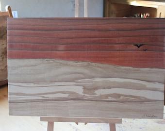 Horizon wood - Inlay of art