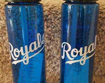 Custom crafted 24oz water bottle