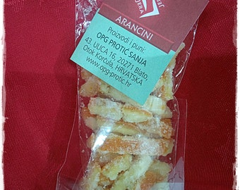 Candied orange peels,Candied lemon peels, candied fruit, natural sweets, healthy snack