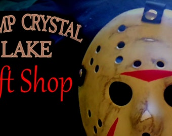 Jason Voorhees Friday 13 Hockey mask costume custom