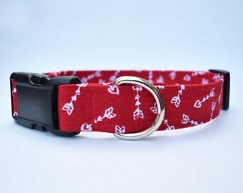 Valentine's Day Dog Collar