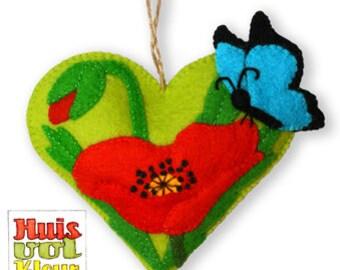 DIY Heart Poppy