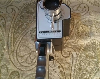 FREE SHIPPING! Bell & Howell Vintage Movie Camera. Made in USA, Brought to you by UsefulRetro!