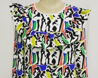 Printed blouse kama by yang