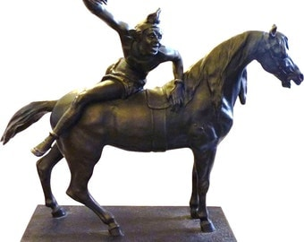 Antoine Louis Barye Bronze Sculpture