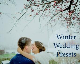 5 Winter Wedding presets Lightroom & ACR Presets | Presets for Lightroom and Camera Raw Wedding Lightroom Presets Professional Lr presets
