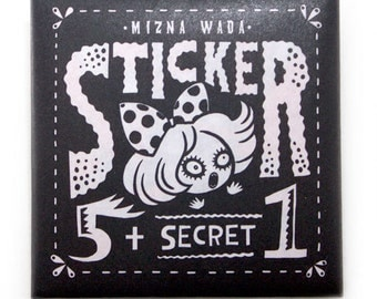 Sticker pack 5+ secret 1