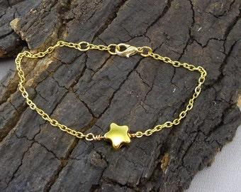 Bracelet star Star Gold