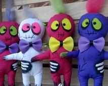 Mini Zombie Doll, Creepy Cute Gift, Walking Dead Gift, Horror Present, Creepy Cute, Handmade Doll, Art Doll, Freaky Doll, Gothic Gift, Doll