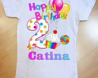 Candy Land Birthday Shirt/Candyland Birthday Shirt/Candy Land Shirt/Candy Land Birthday/Candy Land Party/Candyland Birthday/Candyland Shirt