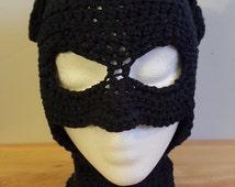 crochet batman inspired mask