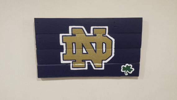 Reclaimed Rustic Pallet Wood Notre Dame Wall Art