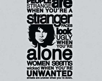 Jim Morrison People Are Strange
