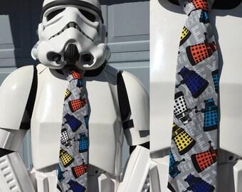 Dalek Doctor Who Novelty Necktie Tie