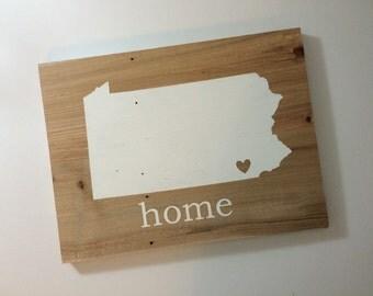 nola state plaque home plaque state plaque state wood no place like home wall plaque Tia No Place Like Home