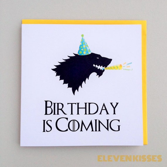 Game Of Thrones Birthday Is Coming