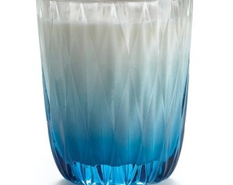 Blue Coral Candle