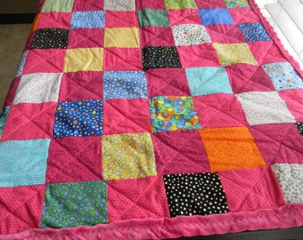Beautiful Quilted Baby Blanket