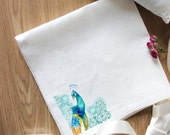 Cloth Napkins Set of 2 Napkins Unique Style Embroidery Napkins Gift for Her Cloth Linen White Eco Friendly Napkins Natural Embroidery