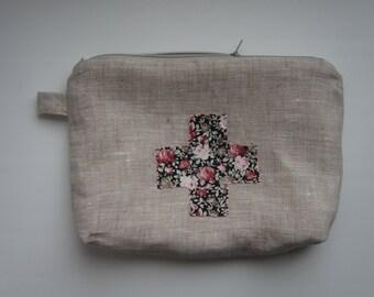 Little zipper pouch, Small zipper pouch, Zipper pouch, Coin Purse