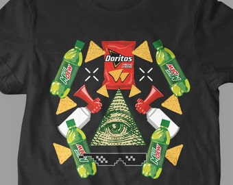 New MLG Game Of The Year Blaze it 420 Video Game Illuminati No Weed PG13 Kid-Friendly Youth Kids Shirt and Toddler Shirt Sizes