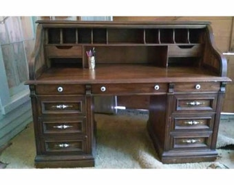 Unique Roll Top Desk Related Items Etsy