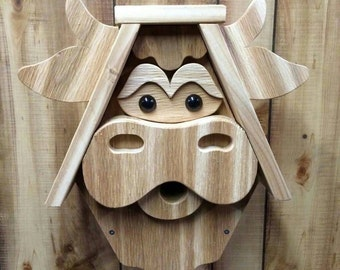 Moo Cow Birdhouse
