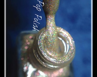 Champagne 5ml - Rose Gold Holographic