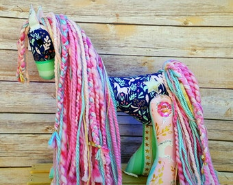 Horse Stuffed Animal - Stuffed Horse - Stuffed Pony - stuffed animal - plush pony - nursery decor - gift for girl - doll - toy