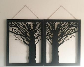 Tree Silhouette Sets
