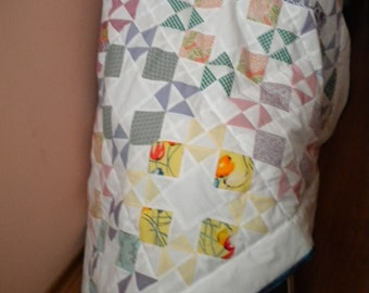 Baby patchwork blanket  134x103 cm