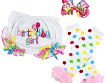 Birthday Bloomer 3 pc Package