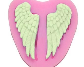 Angel Wings Chocolate Fondant Clay Mold