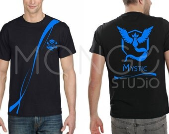 Pokemon GO T-shirt Team Mystic