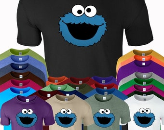 Cookie Monster Novelty Gift Funny T-Shirt