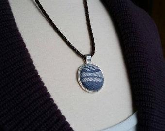 Tula Lorelei Anthias- Wrap Scrap Necklace - Tula Wrap Scrap - Shiny Silver Finish